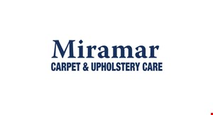 Product image for Miramar Carpet & Upholstery Care $99.95 first 3 areas cleaned