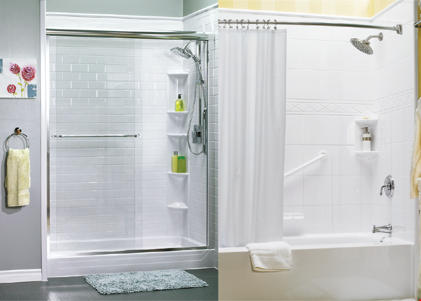 Product image for Bathfitter of Knoxville UP TO $450 off* on a Complete Bath Fitter System.