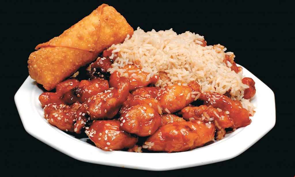 Product image for Hibachi Factory - UT/Campus FREE 20oz coke or side item.