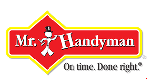 Product image for Mr. Handyman $40 OFF 4 Hours or More of Services