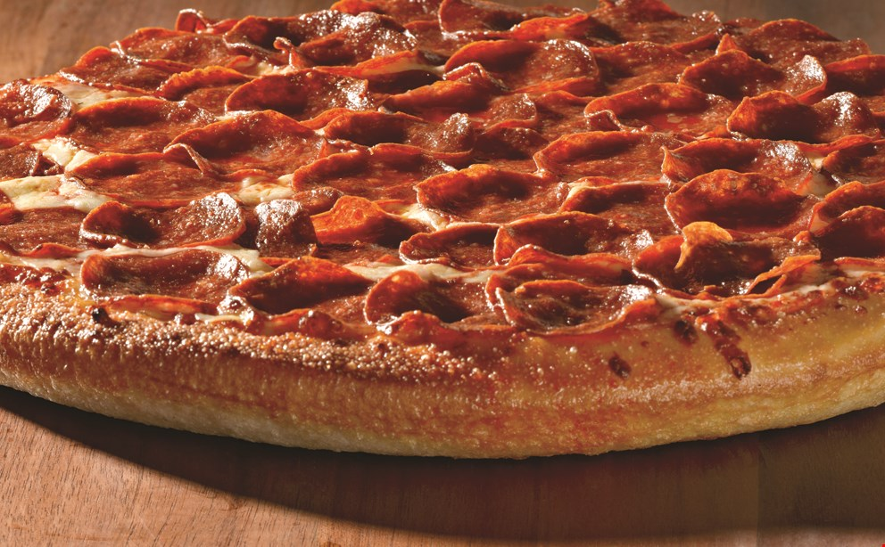 Product image for Papa John's $18.00 1 large 1 topping pizza, an order of cheesesticks and a 2 ltr.