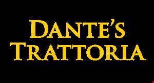 Dante's Trattoria logo