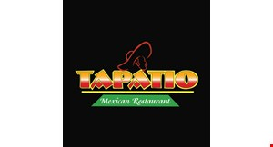Product image for Tapatio Mexican Restaurant $10 off Any purchase of $50 or more.