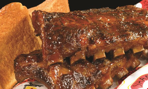 Product image for Shane's Rib Shack Buy one half rack plate, get one half off.