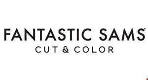 FANTASTIC SAMS CUT & COLOR logo