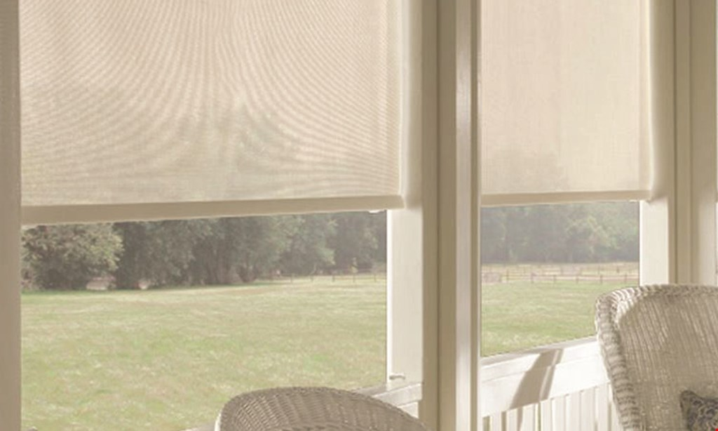 Product image for Budget Blinds 30% OFF Signature Series products.