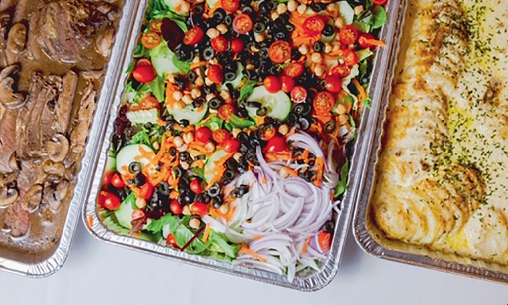 Product image for The Original Vazzy's 1/2 OFF entree buy 1 entree, get 1 entree 1/2 off.