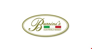 Burrini's Olde World Market logo