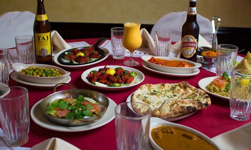 Product image for India Chef FREE ENTREE! Buy one entree w/ 2 beverages, Get second entree FREE Dinner & Dine-In Only · Sunday-Thursday (value up to $12).