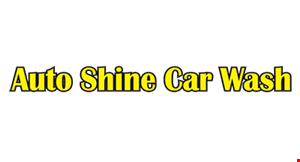 AUTO SHINE CAR WASH logo