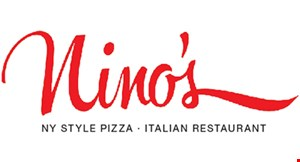 Product image for Nino's NY Style Pizza Italian Restaurant $10.99 large cheese pizza toppings extra.