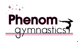 Phenom Gymnastics logo