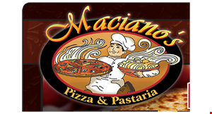 MACIANO'S PIZZA & PASTARIA logo