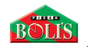 Product image for Pizzabolis $16.99 2 Medium 1-Topping Pizzas