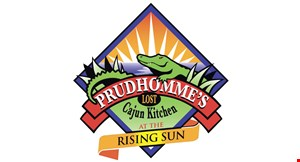 Prudhomme's Lost Cajun Kitchen logo