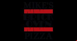 Mike's Brick Oven Pizza logo