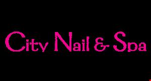 CITY NAIL & SPA logo