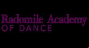 Radomile Academy of Dance logo