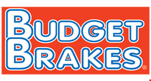 Product image for Budget Brakes $15 OFF Wild Wednesdays