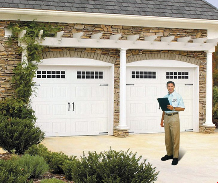 Product image for Precision Door Service-Knoxville & Surrounding Areas $100 Off Any New Double Garage Door With Free Installation.