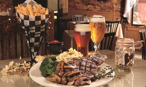 Product image for The Poplar Inn $9.95 16 oz. Porterhouse Pork Chop dinner.