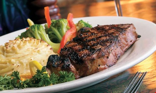Product image for The Poplar Inn $9.95 16 oz. Porterhouse Pork Chop dinner.