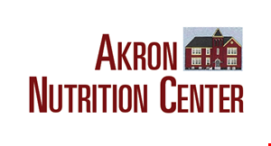 Product image for Akron Nutritional Center $10 off any vitamin, mineral or herb purchase