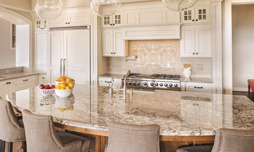 Product image for Unity Cabinet & Granite Starting at $29.99* while supplies last*per sq. ft.Installed 3 CM Granite - Grey Rose