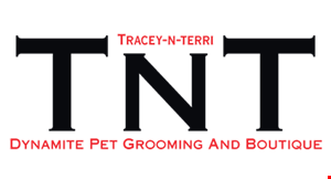 TNT Dynamite Pet Grooming and Boutique logo