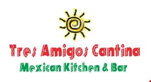 Tres Amigos Cantina Mexican Kitchen & Bar logo
