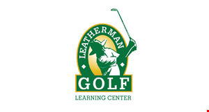 LEATHERMAN GOLF LEARNING CENTER logo