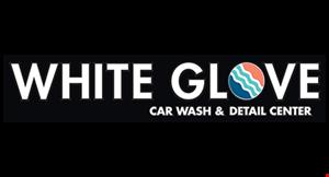 White Glove Car Wash & Detail Center logo