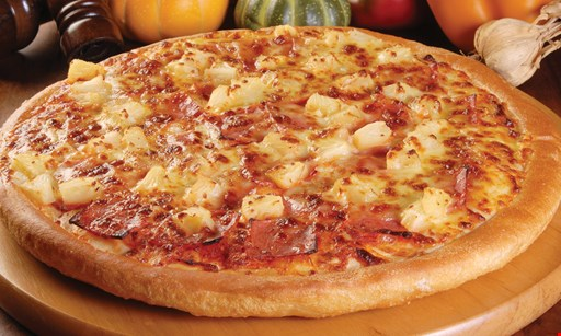 Product image for Giovanni's Pizza & Grill $19.50 + tax large cheese pizza + 12 buffalo wings