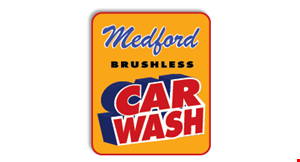 Medford Brushless Car Wash logo