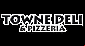 Towne Deli & Pizzeria logo