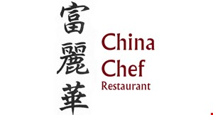 Product image for China Chef Restaurant 10% off lunch