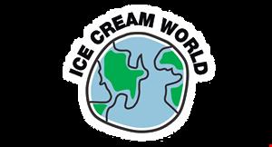 Ice Cream World logo