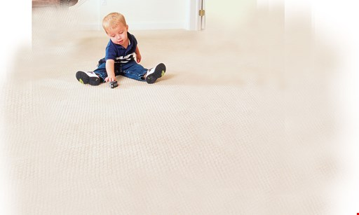 Product image for Steam Master Carpet Cleaning $175 5 Rooms Only
