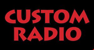 Custom Radio logo