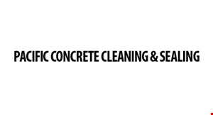 Pacific Concrete Cleaning and Coating logo