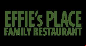 EFFIE'S PLACE FAMILY RESTAURANT logo