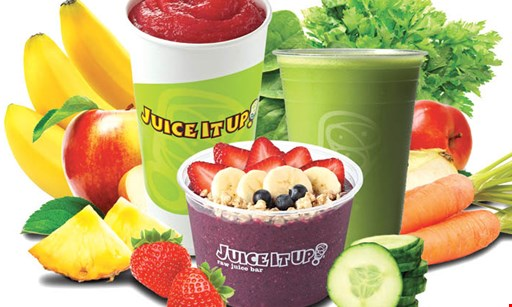 Product image for Juice It Up $2 OFF Any large acai bowl
