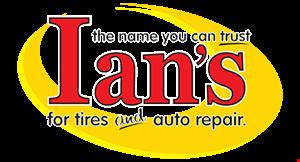 Ian's Tires & Auto Repair logo