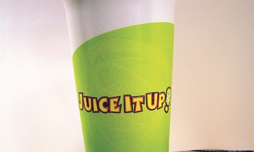 Product image for Juice It Up $2 OFF a classic large smoothie or any cold-pressed juices.