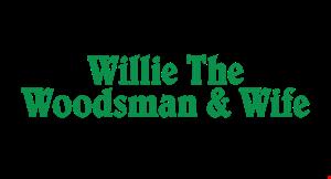 Willie The Woodsman & Wife logo