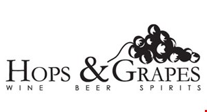 HOPS & GRAPES logo