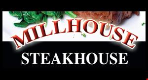 Millhouse Steakhouse logo