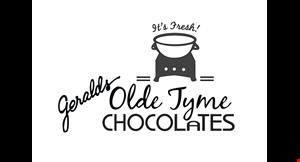 Gerald's Olde Tyme Chocolate logo
