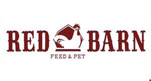 Red Barn Pet Express logo