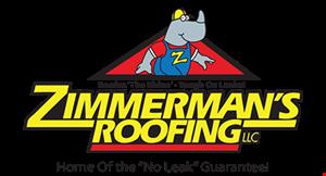 Zimmerman's Roofing logo